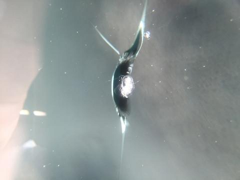 ekスペース フロントガラス 飛び石 修理