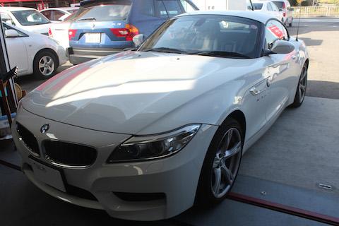 BMW Z4 フロントガラス 修理 ウインドリペア