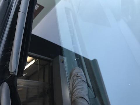 CT200 レクサス フロントガラス 飛び石 修理 ウインドリペア
