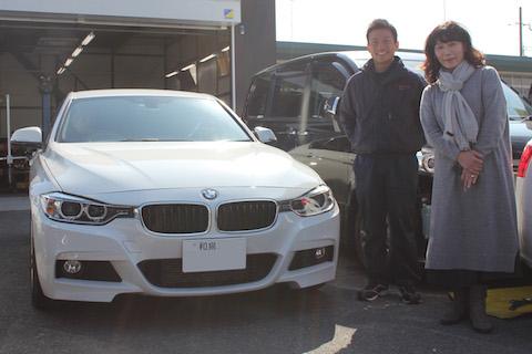 BMW ヘコミ 修理 デントリペア