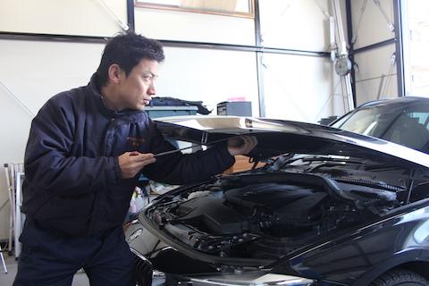BMW M ヘコミ 修理 デントリペア