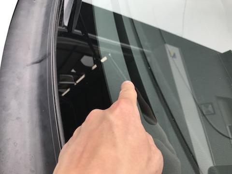 インプレッサ フロントガラス 飛び石 修理 ウインドリペア
