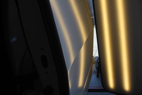 ヴェルファイア ヘコミ 修理 デントリペア フェンダー スライドドア