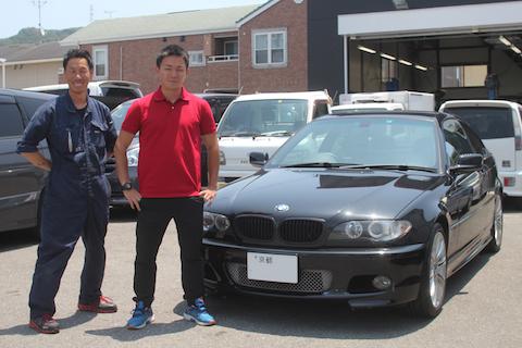 BMW 318Ci 車検 修理 ベルトテンショナー