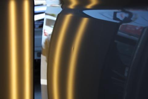 ハイエース ヘコミ 修理 デントリペア スライドドア