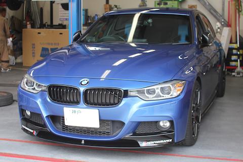 BMW Mスポーツ デントリペア ドア ヘコミ 修理