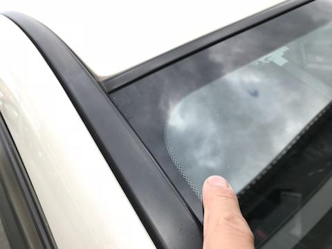 ステップワゴン フロントガラス 飛び石 修理 ウインドリペア