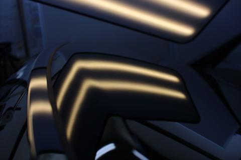 ヴェルファイア 新車 ヘコミ 修理 デントリペア ボンネット