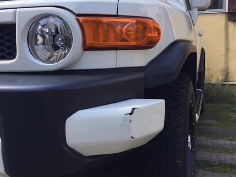 FJクルーザー ヘコミ 修理 デントリペア 板金・塗装