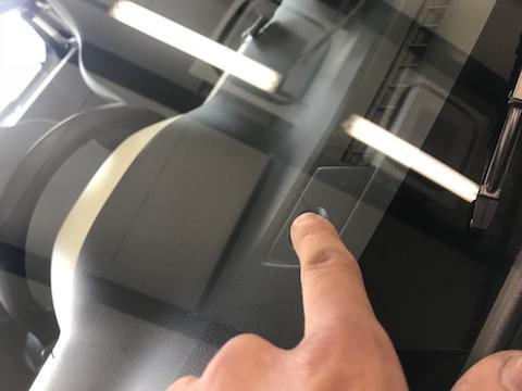 アルト フロントガラス 飛び石 修理 ウインドリペア