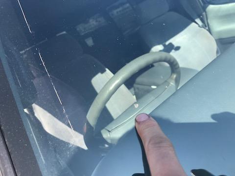 GTR 35 フロントガラス 飛び石 修理 ウインドリペア