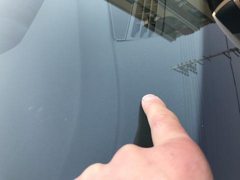 フロントガラスのヒビ 修理は、大阪のデントスマイル