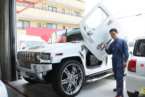輸入車・高級車のフロントガラスのヒビ・割れも修理可能です!