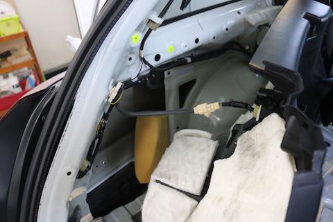 フェンダー・クォーターのヘコミ修理もデントリペアで解決!