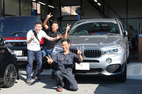 車の査定額に良く、愛車オーナー様に一番人気の修理方法!