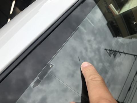 フロントガラスを交換しなくても、飛び石の傷は直ります!