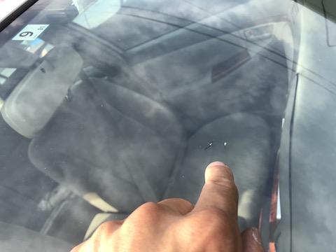 フロントガラスのウインドリペア 、即日施工・たった40分~で直ります!