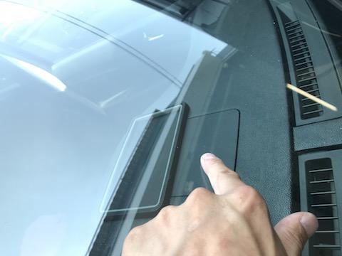 修理出来ない、ガラス交換と言われた飛び石の傷を修理!