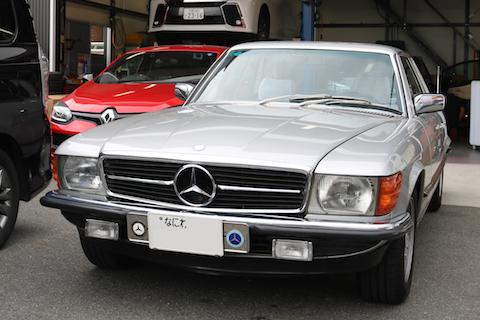 40年前の旧車にヘコミ、塗装しない修理のデントリペアが一番!
