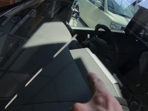 フロントガラスの飛び石被害、当日ウインドリペア修理受付可能!