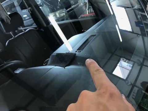 台風被害のフロントガラスのヒビ・割れ修理をお任せください。v