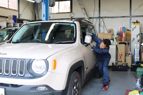 新車や特別仕様の色等、ヘコミ修理で色を塗りたく無い方にオススメ!