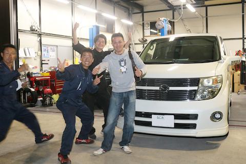 断られてた車のヘコミ修理、大阪のデントスマイルが解決いたします!