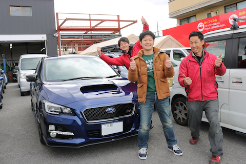 大阪で車のヘコミは、短時間で直せるデントスマイルへ!