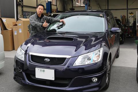 車のフロントガラスのヒビは放置しないで下さい!高額修理になる前に早めの修理を!
