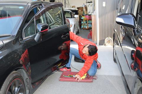 最強のヘコミ修理は1万円〜、15分〜で直るデントリペア!
