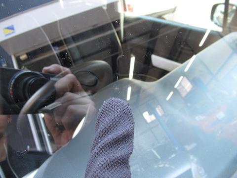 できないと断られるフロントガラスのひび割れを修理(リペア)する技術!