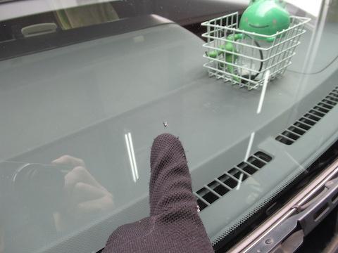 フロントガラスのひび割れ、複数あっても直せます!