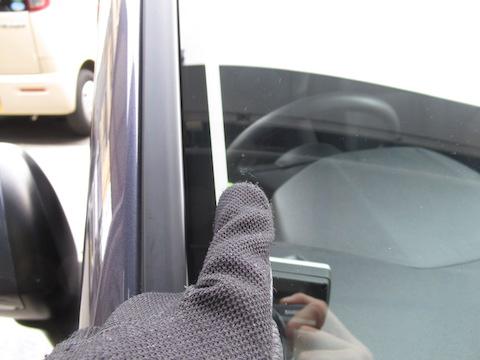修理できないと断られるフロントガラス割れを修理で対応!