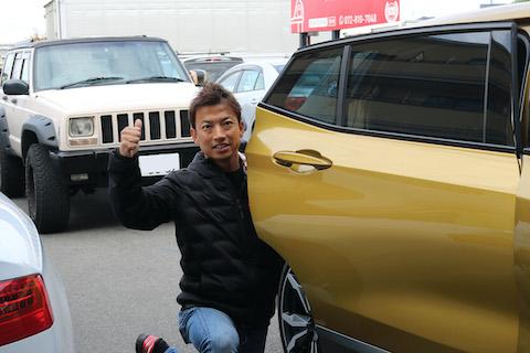 兵庫県で鈑金・塗装している2店のお店から、交野市のデントスマイルなら綺麗にヘコミを直すとご紹介頂きました!!