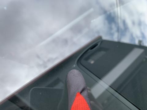 車検が通らなかったという相談続出!フロントガラスのひび割れ、本当に不合格です!