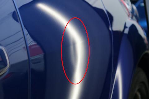 大事にピカピカにしている愛車こそ、ヘコミ修理はデントリペアで直してください!