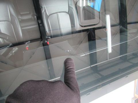 急な依頼なのに助かりました!と、予約なくてもフロントガラス修理受付中です。