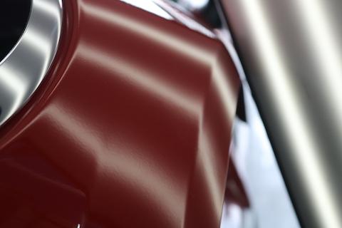 デントリペアは小さなエクボ修理だけではありません、大きく深いヘコミも塗装しないで直ります!