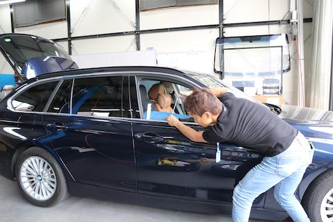 BMWのヘコミがたったの15分〜で直るデントリペアをご紹介!