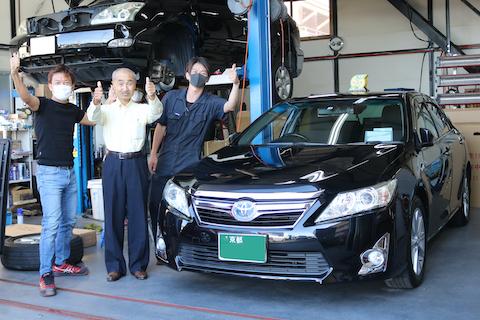 タクシーなどの仕事車、ヘコミ修理で仕事を止めれない方、デントリペアをご利用ください!