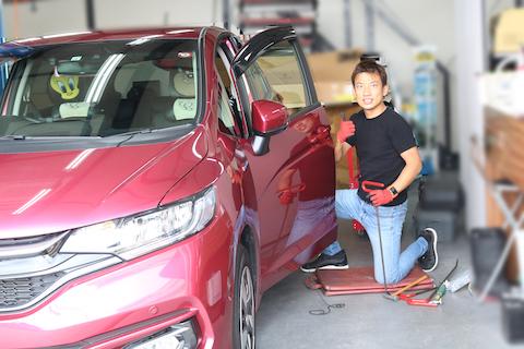 プレスライン・角・凹凸、車のヘコミをデントリペアで塗装せずに再現!
