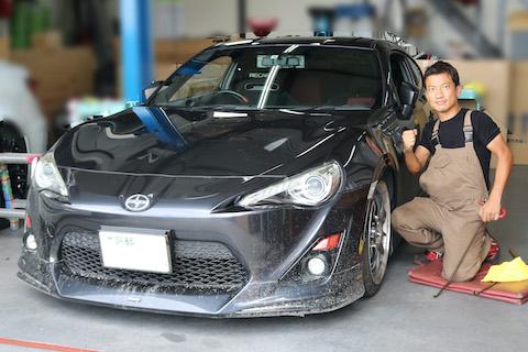 板金塗装レベルのヘコミ修理もデントリペアで直します!