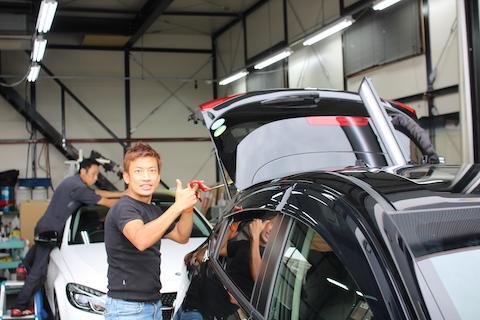 デントリペアできないと断られた車のヘコミを修理!