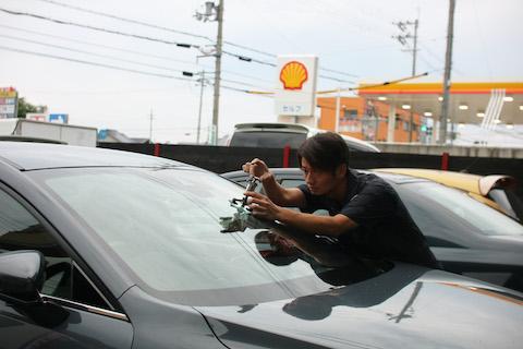 車で困ったらデントスマイルに電話します!と嬉しいお言葉!
