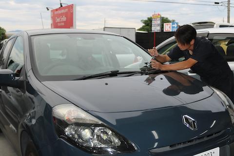 輸入車のフロントガラス修理も可能!即時対応!