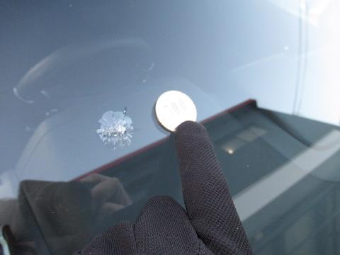 フロントガラスの傷が大きすぎてもウインドリペアで修理!