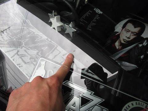フロントガラスのひび割れ傷は直ります!