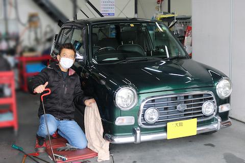 車好きオーナー様は必見のヘコミ修理デントリペア!