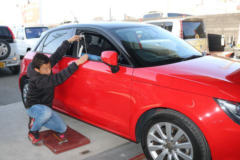 高級車は車の価値を下げない修理が大事!