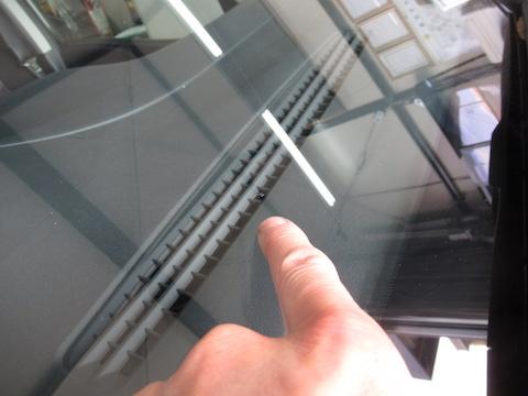 フロントガラスは修理できます!環境にやさしい方法